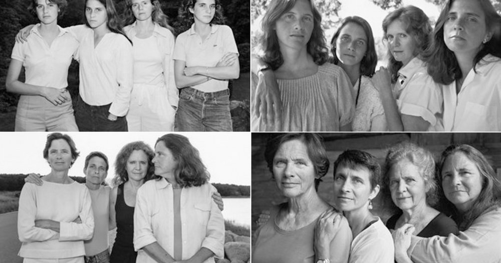 Forty Portraits Of Sisters Over Forty Years