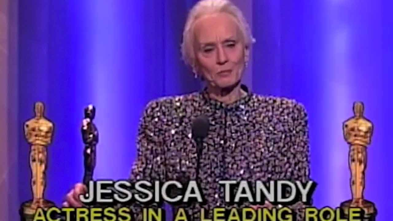 Jessica Tandy was only 18 when she made her professional debut.