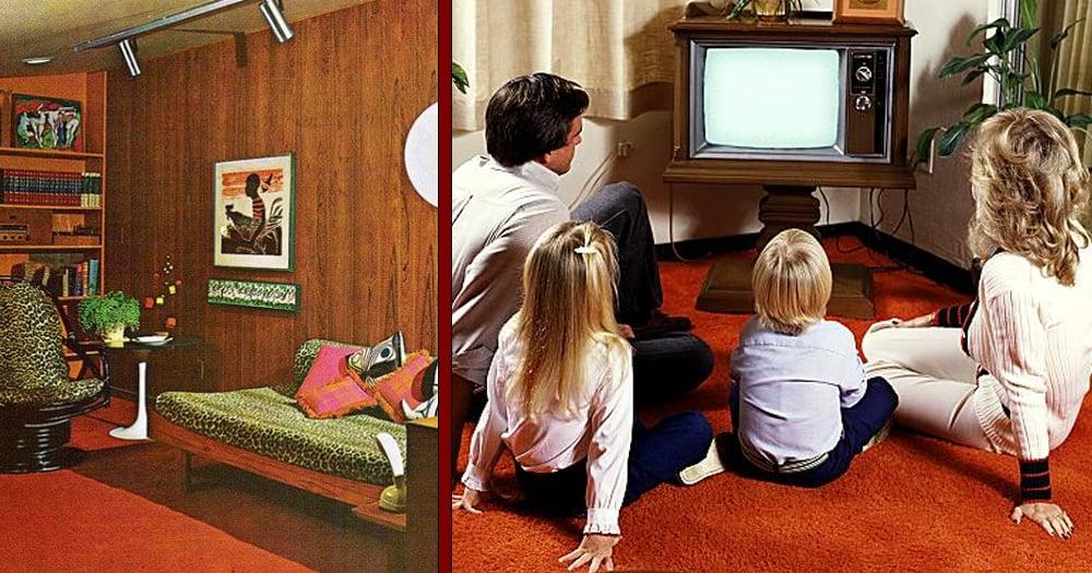 Home decor of the 70s the technicolor decade still has for 70 s bathroom decor