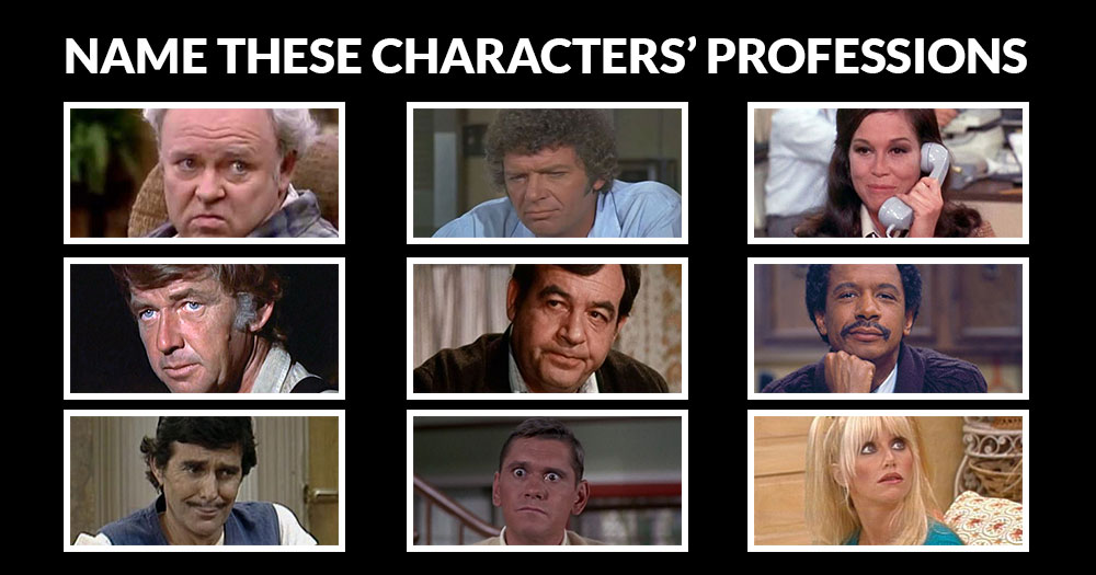 Can You Name the Professions Of These '70s Characters?