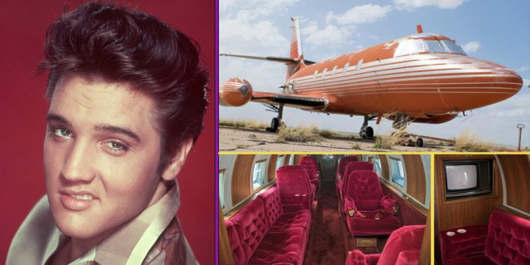 Elvis Presley's Untouched 1962 Jet Is Up For Sale. The Inside Is Absolutely Gorgeous ...