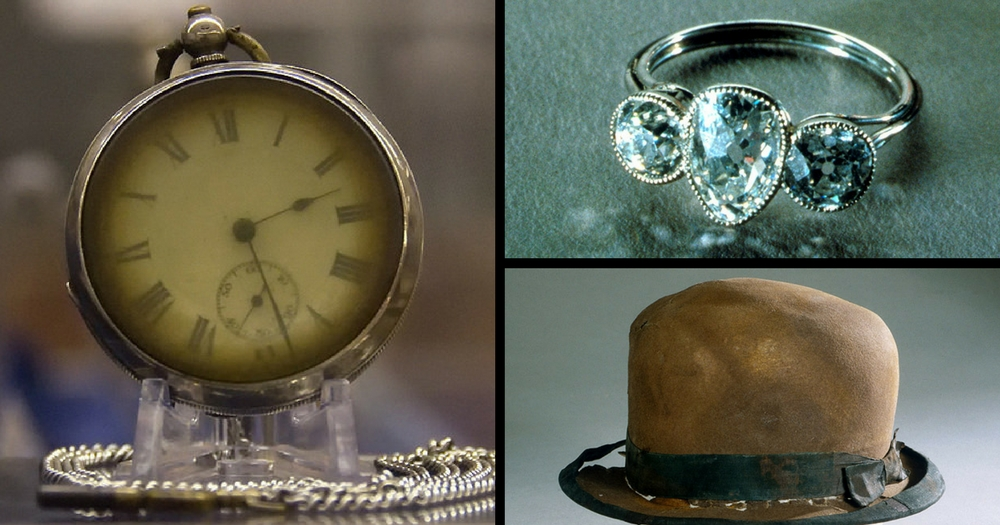 The Titanic Is For Sale For $200 million: Here's A look At Its Salvaged Treasures