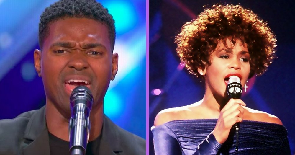 """Spine-Tingling Whitney Houston Cover Brings Down The House On """"America's Got Talent"""""""