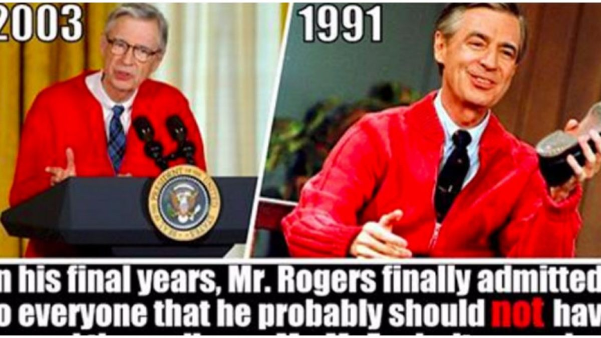 11 Weird But True Facts About Mr Rogers Neighborhood Doyouremember