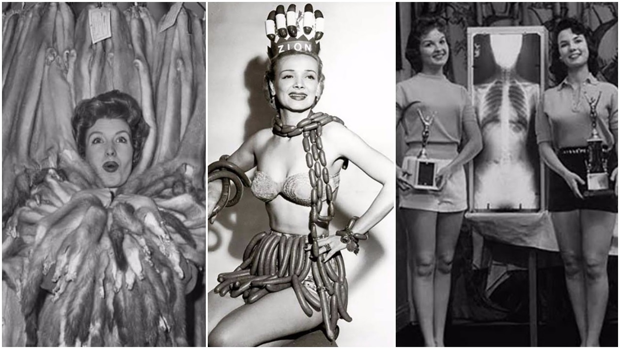 16 Hilarious And Bizarre '50s And '60s Pageants That Simply Boggle The Mind!