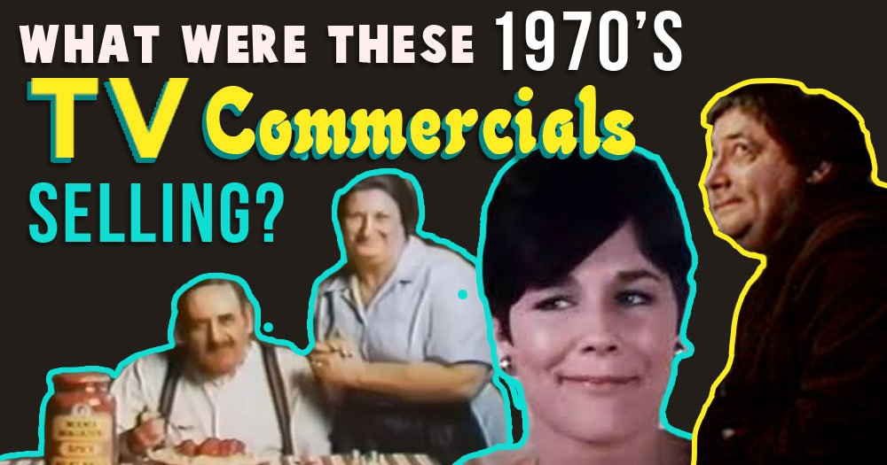 What Were these 1970's TV Commercials Selling?