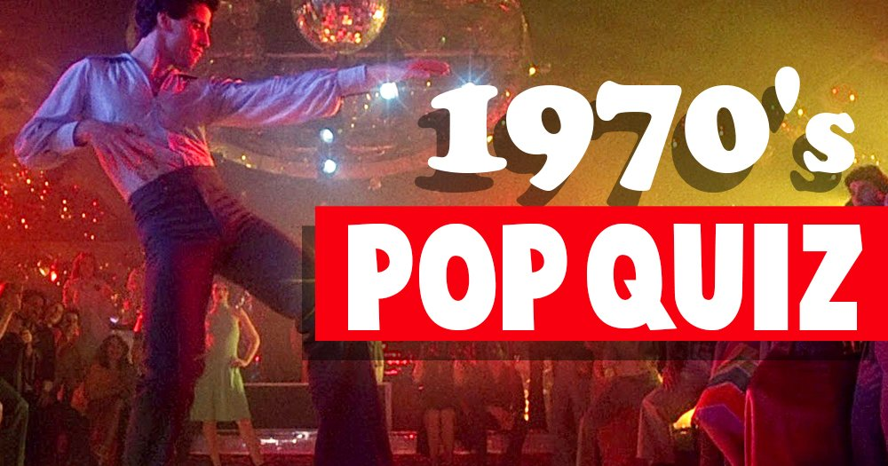 1970's Entertainment And Pop Culture Trivia   How's Your Memory?