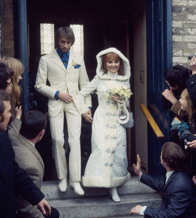 18 Insanely Cool Photos Of Vintage Celebrity Weddings