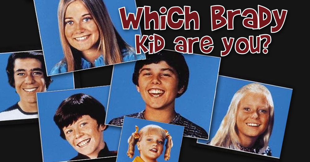 Which Brady Kid Are You?