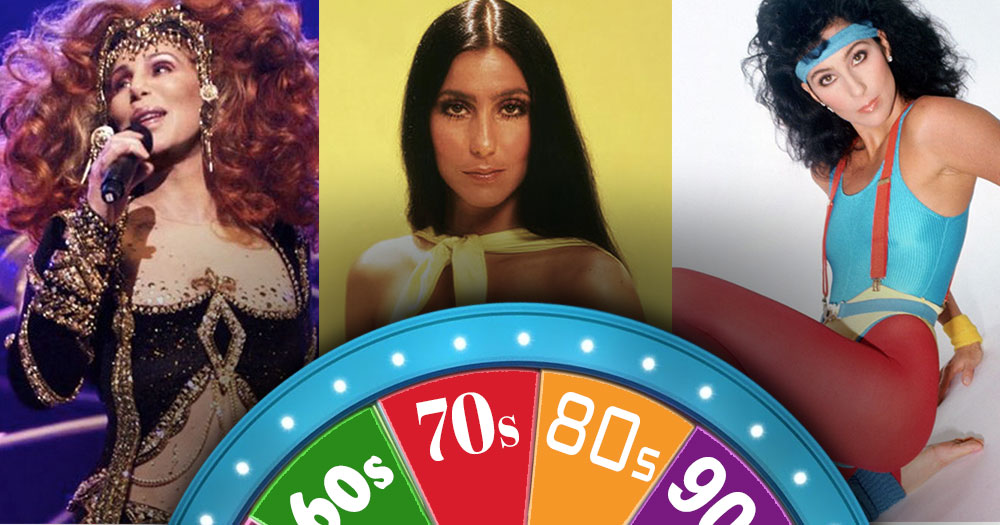 Guess Which Decade Cher is in?