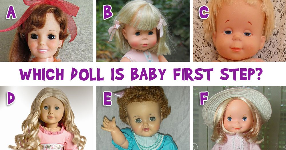 Can you guess the names of all these 25 Dolls?