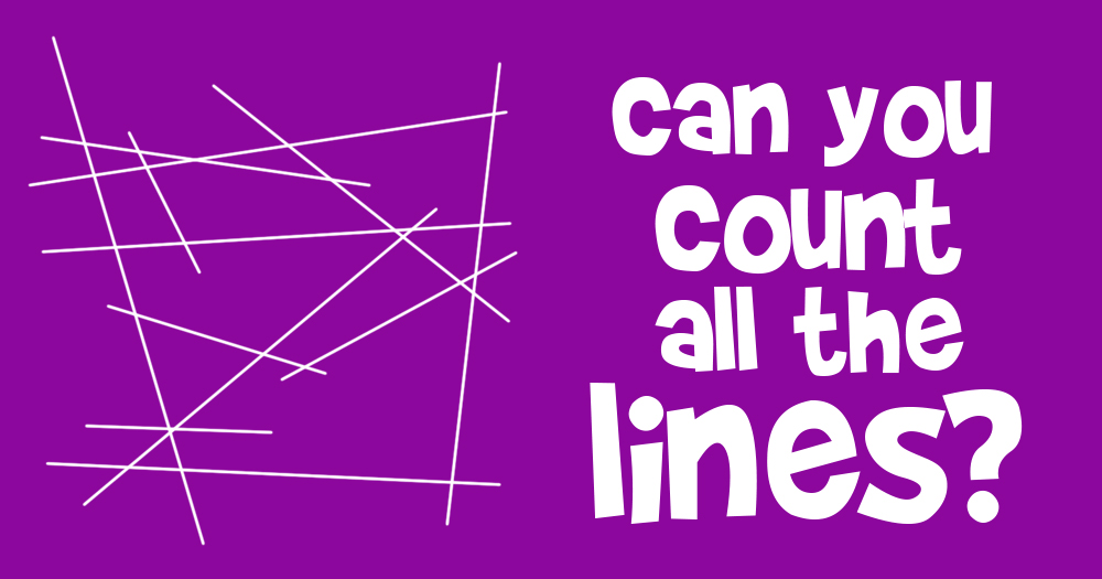 Can You Count all the Lines?