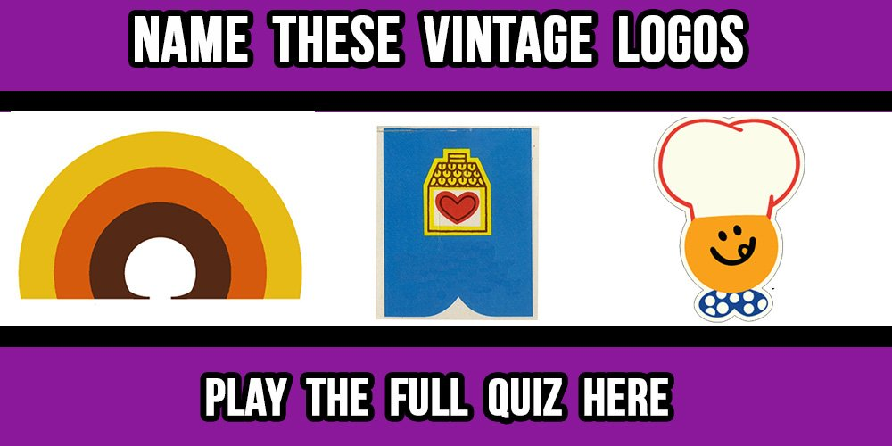 Can You Name These Vintage Logos?
