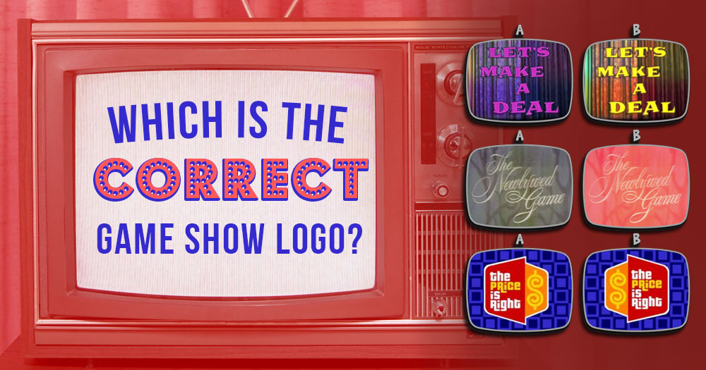 Which is the Correct Game Show Logo?
