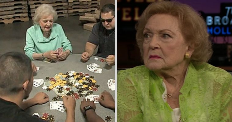 Резултат слика за Beti Vajt  playing poker