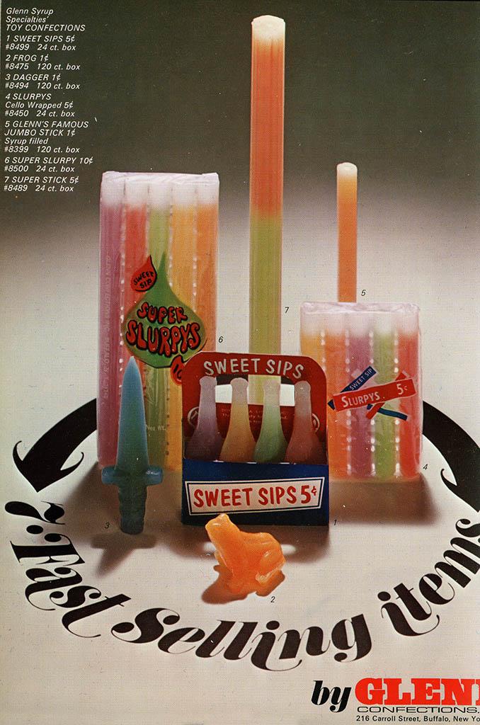 sweet sips wax candies