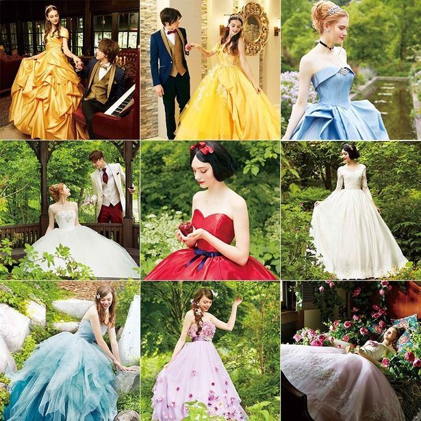 Disney Launches New Range Of Wedding Dresses And All 14 Gowns Are ...