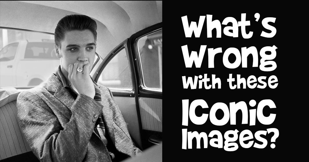 What's Wrong with these Iconic Images?