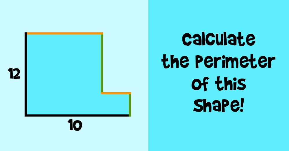 Can You Calculate the Perimeter of this Shape?
