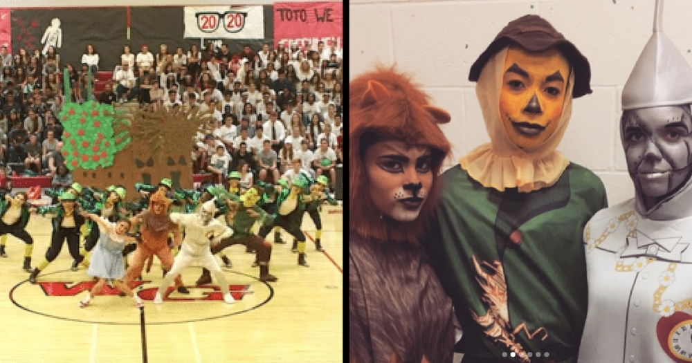 High-School Dancers Perform The 'Wizard of Oz' At Their Pep Rally And It's Absolutely Amazing! Watch The Performance Here