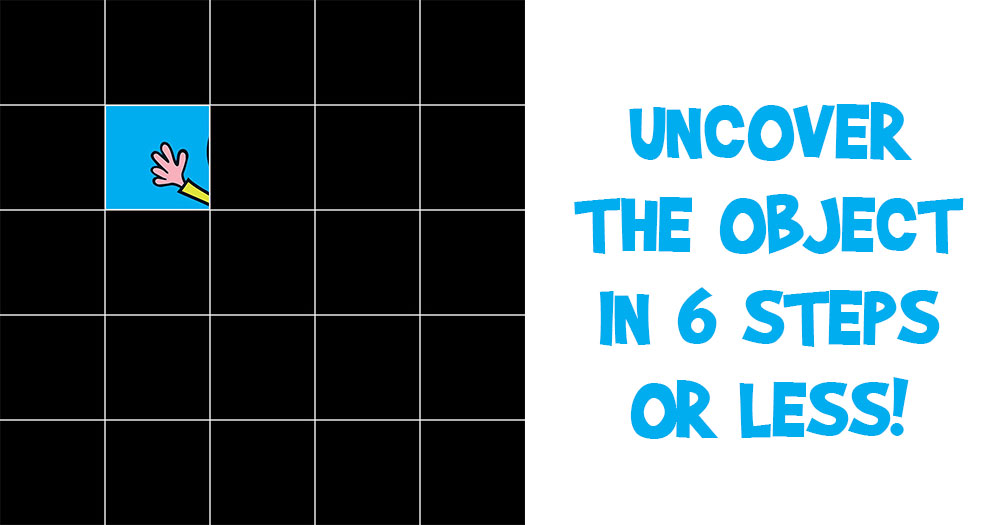 Guess the object in 6 Steps or Less