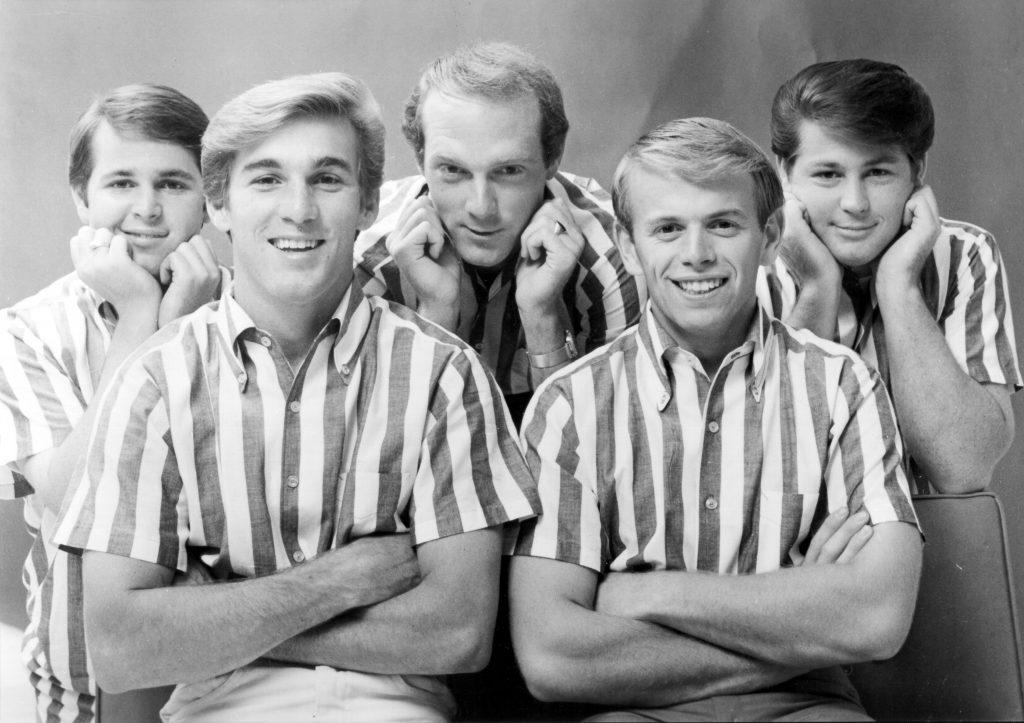 1960's photo of The Beach Boys