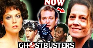 Ghostbusters Cast Then and Now 2021