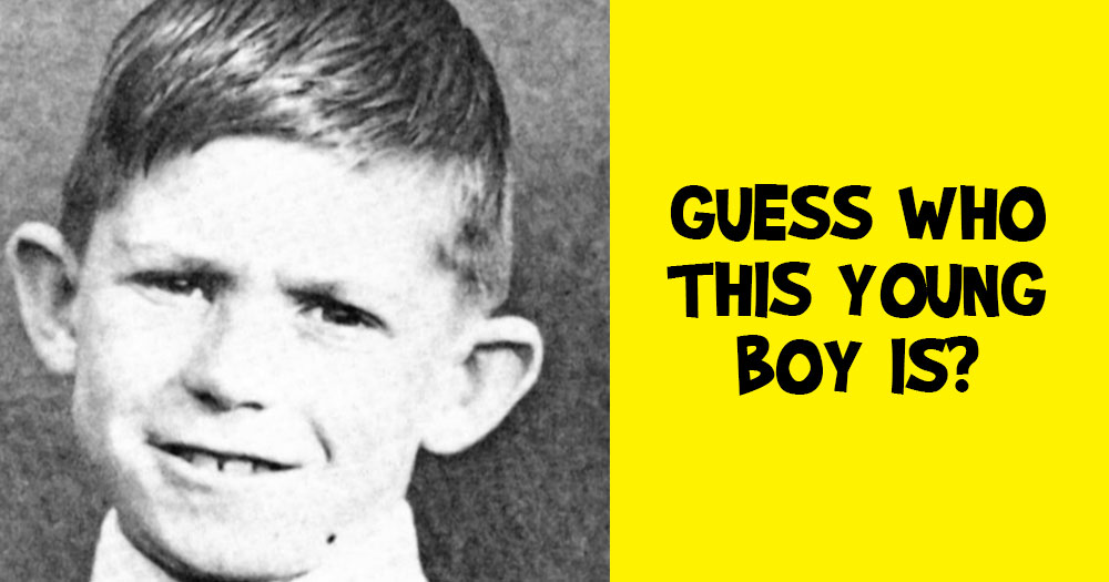 Guess Who this Young Boy Grew up to Be?