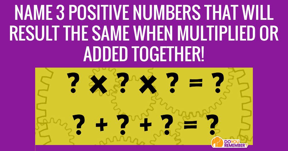 Solve this Seemingly Math Problem