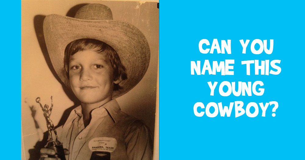 Can You Name this Young Cowboy?