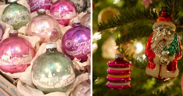 shiny brite ornaments valuable nostalgic christmas baubles do you remember
