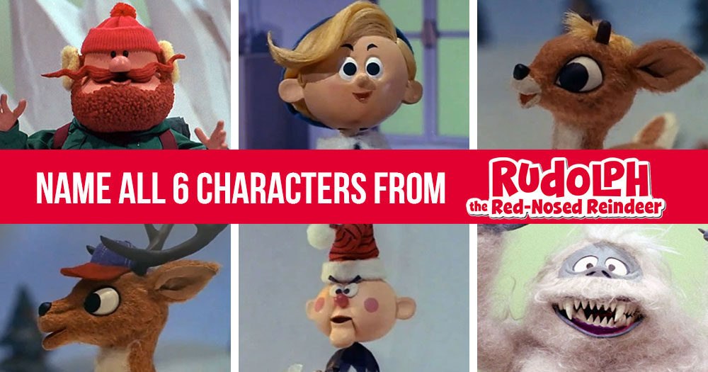 Rudolph the Red Nose Reindeer Character Trivia