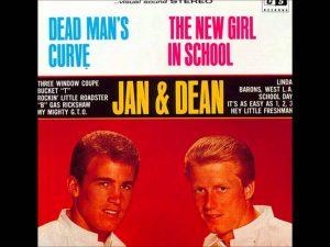 "Jan & Dean's 45 rpm record ""Dead Man's Curve"""