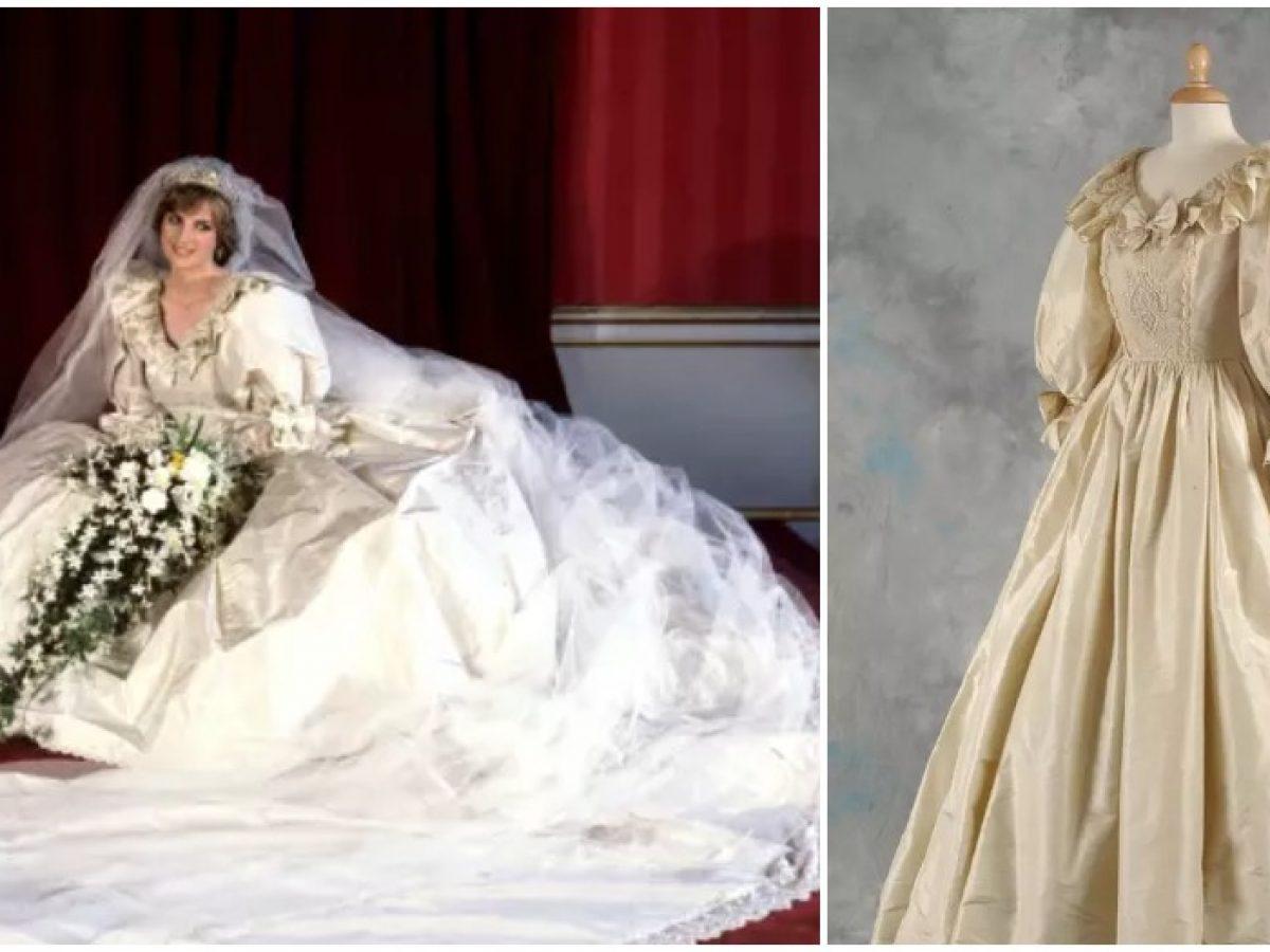 11 Hidden Details On Princess Diana S Wedding Dress You Didn T