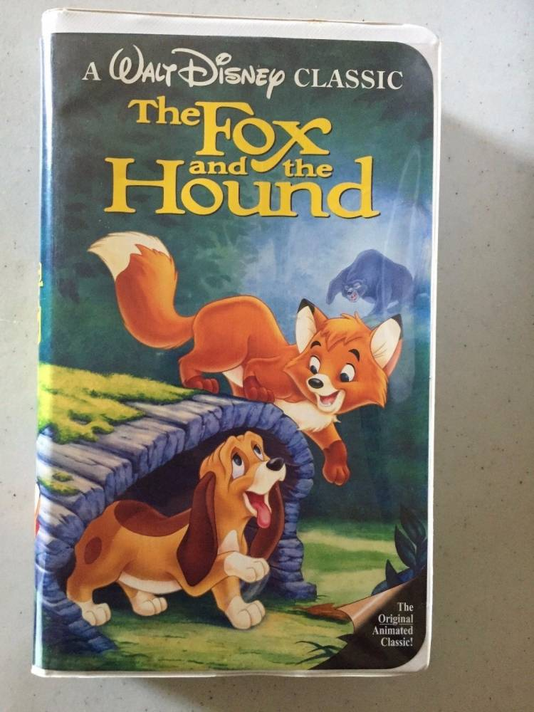 The Fox And The Hound VHS Tape