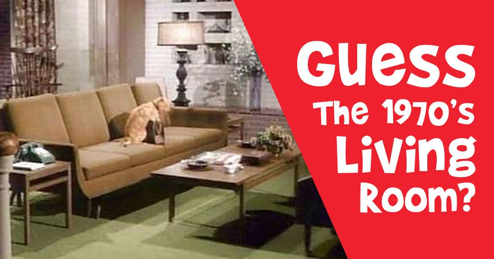 Can You Match All these Living Rooms to their 1970's TV Shows?
