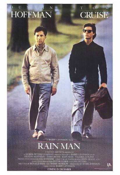 Rain Man with Tom Cruise