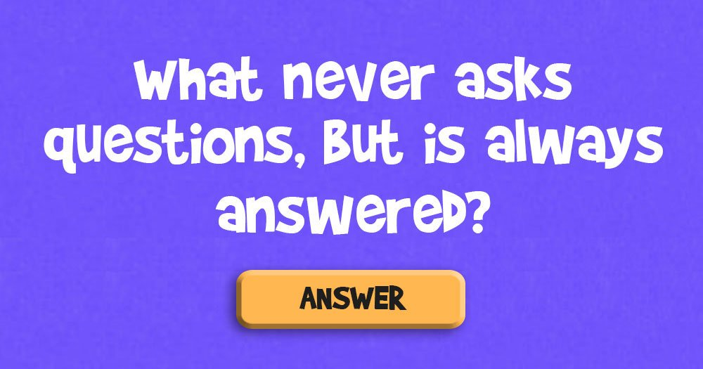 These 3 Riddles Will Make You Think
