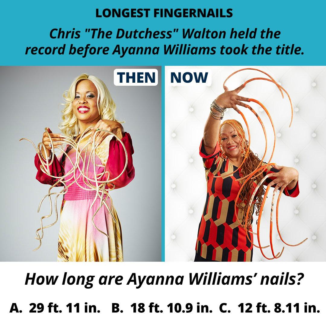 Guinness World Records - Longest fingernails | Do You Remember?