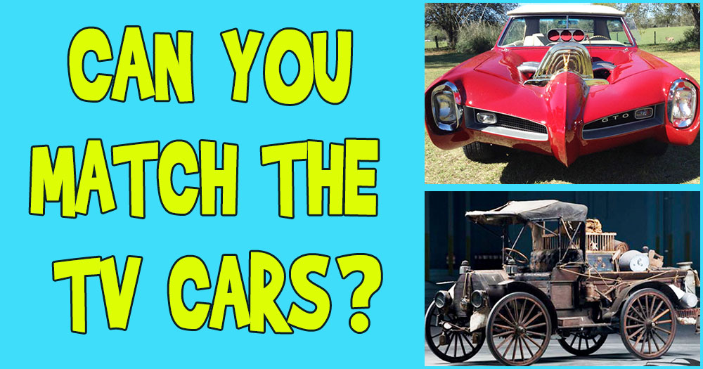 Can You Match The Car To The TV Show?