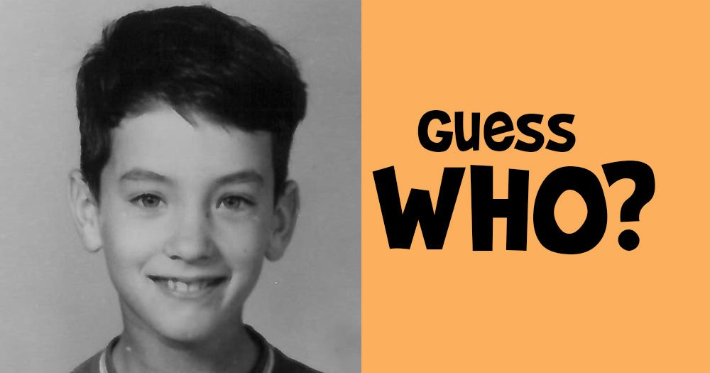 Guess Who this Cute Little Boy is?