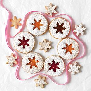 Fancy fruit cookies