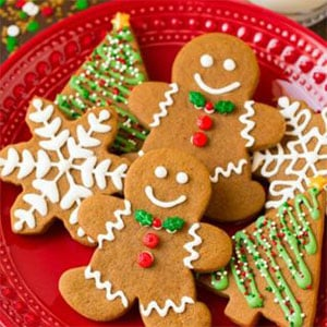 Bite the heads off these gingerbread men
