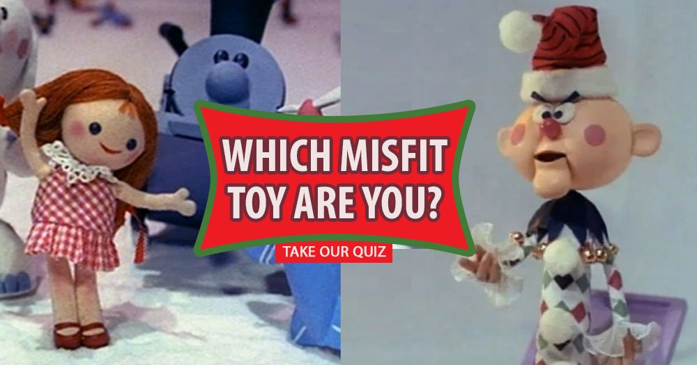 Find Out What Misfit Toy You Are With Christmas Themed