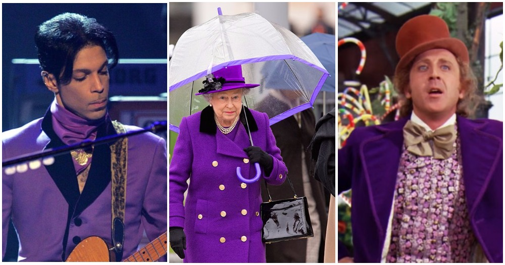 Ultra Violet Is the Color Of 2018: All The Times Pop Culture Already Rocked The Purple Shade
