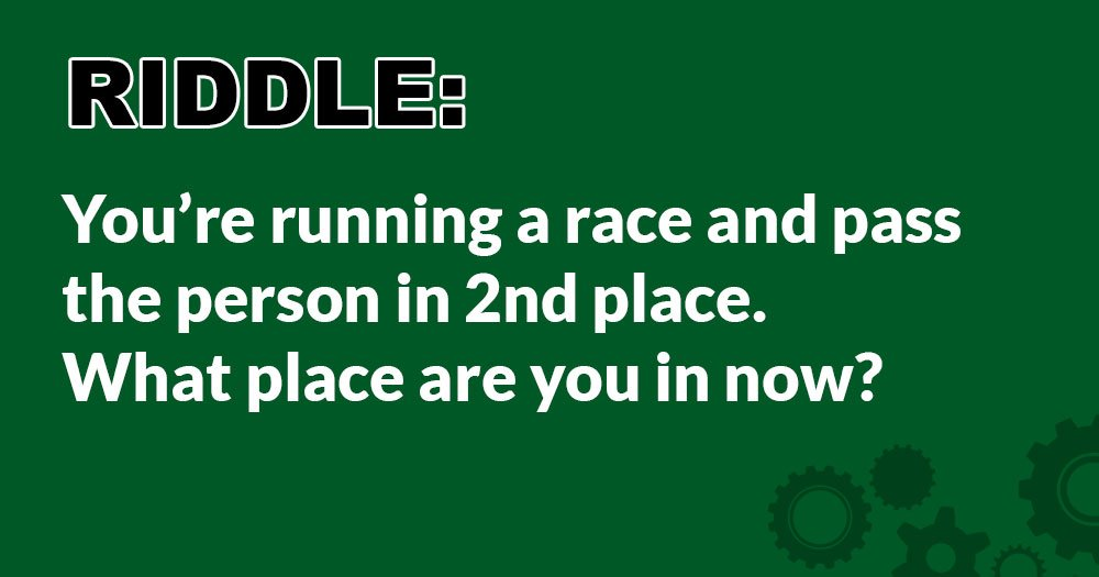 Riddle: What Place Are You in Now?