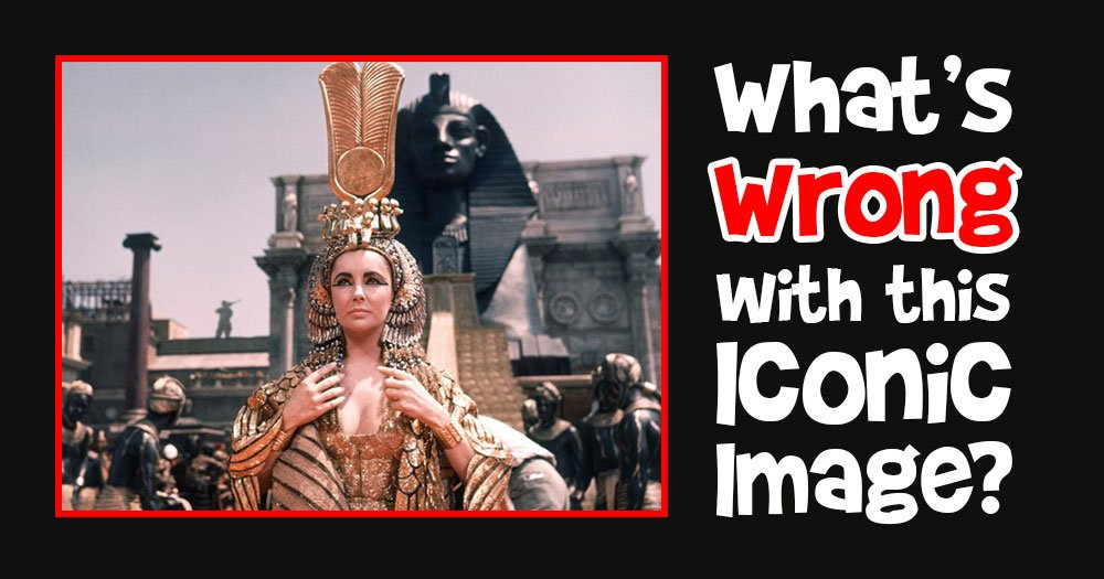 What's Wrong with this Iconic Cleopatra Movie Scene?