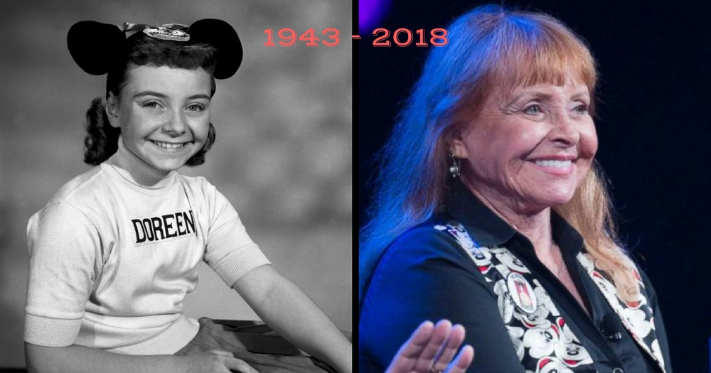 Doreen Tracey, Original Mickey Mouse Club Mouseketeer, Died At 74