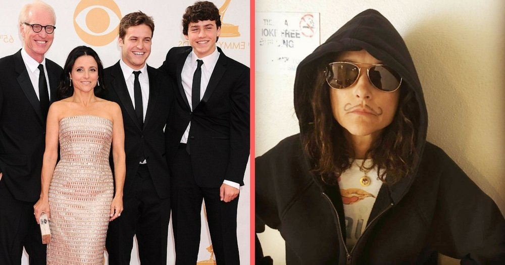 Julia Louis-Dreyfus' Sons Film Uplifting 'Beat It' Video Honoring Her Last Day Of Chemo