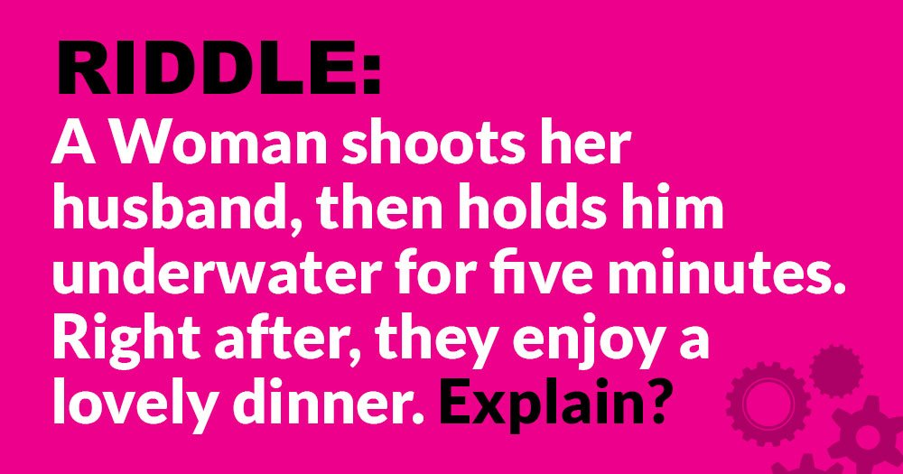 Riddle: How is this Possible?